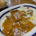 インディラ - 料理写真:ビーフカレー チーズ