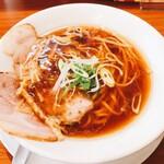 らーめん 四恩 - 料理写真:鶏だし醤油