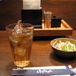 1599518 - ぼてぢゅう燦 伝統のモダン焼(サラダ)