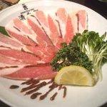 清香園 - 巻き豚カルビ梅風味