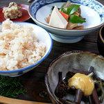 山菜料理 みたき園 - タケノコごはん♪たまりません!