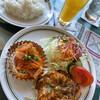 レストラン タカセ - 料理写真:日替りランチ ¥820  牛肉の赤ワイン煮とサワラマリネ