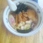 らーめん太聡 - 醤油ラーメン\500