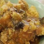 中華四川料理 もりた - 中華風醤油カツ丼