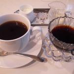 Cafe FUZIMI - FOODに付いてるコーヒー&コーヒーゼリー