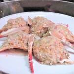 159910008 - 蟹(明石)ほぐし身強火炒め