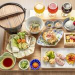 京のSAKESORA - ディナーコース(彩おばんざいと鯛しゃぶコース)