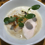 麺処 飯田家 - 料理写真:鶏まみれ 950円(税込)