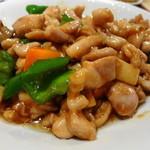 清香楼 - セットランチの鶏の五目炒め