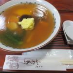 上七軒 ふた葉  - のっぺい 660円