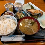 活魚料理ととや - ぎんだら西京焼き1100円