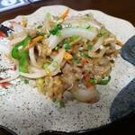 159932161 - ミミガー味噌炒め