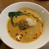 ラーメン屋 Hi-BRi - 料理写真:担々麺¥820 サラダ付き