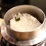 アルペンジロー - 釜炊きご飯2