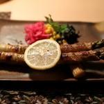アルペンジロー - アスパラの豚バラ巻き焼き