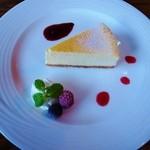 カフェ・ロシェ - チーズケーキ