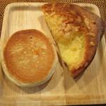 リトルマーメイド - チャイニーニ、2種のデンマークチーズブレッド(ハーフ)