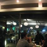 リアルダイニングカフェ - 景色は最高!
