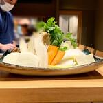 すき焼き 串カツ はるな - お野菜