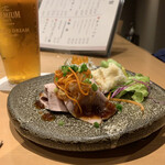 すき焼き 串カツ はるな - 前菜3種