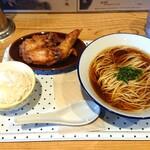 阿波尾鶏中華そば藍庵 - 料理写真:平日限定「阿波尾盛」