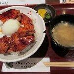 159956521 - ドライブインいとう 「温玉豚丼」