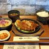 肉屋 堀もと - 料理写真:・ローストンテキ厚焼鉄板 Single 1,000円/税込