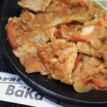 159982573 - LOVE PAKU ブタ盛 しょうが焼き定食 ご飯特盛