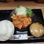 159982603 - LOVE PAKU ブタ盛 しょうが焼き定食 ご飯特盛