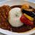 バーガー&カレー タケヤ - 料理写真: