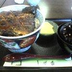 しげ吉 - うなぎ丼(上)