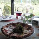 160732 - 4種のチーズのピザ