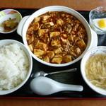16000681 - 麻婆豆腐セット 2012年11月訪問時
