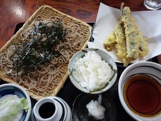 春日野 - ランチ 鰯天ぷらセット