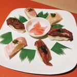肉寿司 炭火焼鳥 食べ放題×全席完全個室 雪月花 - 肉寿司