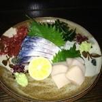 16002094 - 〆鯖と平貝