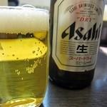 オニオンS - まずはビール!