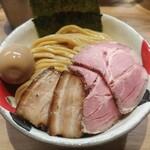 自家製麺 つきよみ - 特製吟醸味噌つけ麺