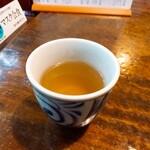 うずら家 - ⚫温かい蕎麦茶