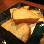 うまいもの 楽味 - 季節野菜の盛合わせ (じゃが芋唐揚)