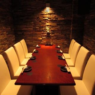 石の間の個室、四季折々のおすすめ料理
