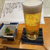 魚菜屋 なかむら - ドリンク写真:グラスビール