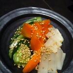 16004014 - 地場野菜の浅漬け 360円