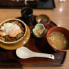 群馬の台所 - 料理写真:台所の炙り親子丼(1000円)