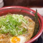 鶴橋らーめん食堂鶴心 - イチオシ、野菜味噌ラーメン。