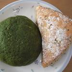 16006994 - 抹茶メロンパンとさつま芋と胡麻のリュスティック