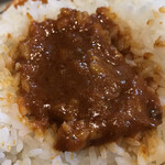 Spice食堂 - カシミールカレーみたいな 赤黒カレーサラサラ*\(^o^)/*     まみこまみこ