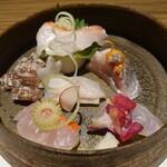 貴水 - キンキ 金目鯛 蝦蛄 鰈 ソイ 鰊
