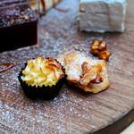ランドアンドイアーズ - 発酵バター香るひとくちスイートポテト@ハードな砂糖がけのサツマイモチップ&ほっこり自然な甘さのひとくちスイートポテト