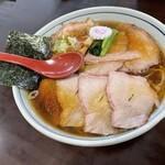 160066752 - 焼豚麺のしょうが醤油の大盛り